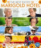The Best Exotic Marigold Hotel - British Blu-Ray cover (xs thumbnail)