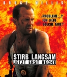 Die Hard: With a Vengeance - German Blu-Ray cover (xs thumbnail)