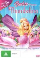Barbie Presents: Thumbelina - Australian Movie Cover (xs thumbnail)
