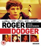 Roger Dodger - British Blu-Ray cover (xs thumbnail)