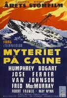 The Caine Mutiny - Swedish Movie Poster (xs thumbnail)