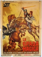 The Magic Sword - Italian Movie Poster (xs thumbnail)