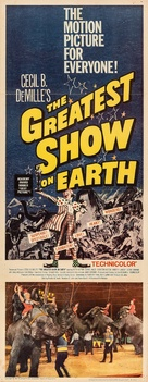 The Greatest Show on Earth - Movie Poster (xs thumbnail)