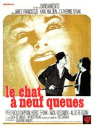 Il gatto a nove code - French Movie Poster (xs thumbnail)