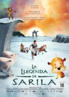 The legend of Sarila/La légende de Sarila - Andorran Movie Poster (xs thumbnail)