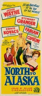 North to Alaska - Australian Movie Poster (xs thumbnail)