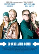 Sprængfarlig bombe - Danish Movie Poster (xs thumbnail)