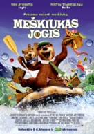 Yogi Bear - Lithuanian Movie Poster (xs thumbnail)