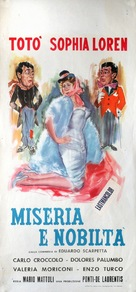 Miseria e nobiltà - Italian Movie Poster (xs thumbnail)