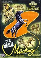 Black Horse Canyon - German Movie Poster (xs thumbnail)