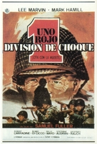 The Big Red One - Spanish Movie Poster (xs thumbnail)