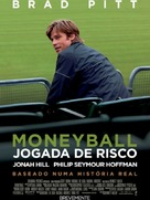 Moneyball - Portuguese Movie Poster (xs thumbnail)