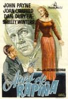 Larceny - Spanish Movie Poster (xs thumbnail)