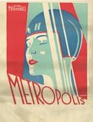 Metropolis - Croatian Movie Poster (xs thumbnail)