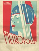 Metropolis - Croatian Movie Poster (xs thumbnail)