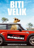 Marmaduke - Croatian Movie Poster (xs thumbnail)