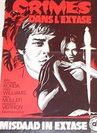 Sie tötete in Ekstase - Belgian Movie Poster (xs thumbnail)