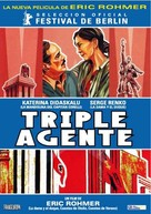 Triple agent - Argentinian Movie Poster (xs thumbnail)