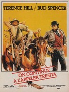...continuavano a chiamarlo Trinità - French Movie Poster (xs thumbnail)
