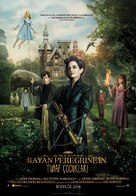 Miss Peregrine's Home for Peculiar Children - Turkish Movie Poster (xs thumbnail)