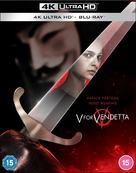 V for Vendetta - British Blu-Ray movie cover (xs thumbnail)