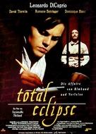 Total Eclipse - German Movie Poster (xs thumbnail)