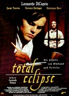 Total Eclipse - German Movie Poster (xs thumbnail)