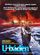 Das Boot - Danish Movie Poster (xs thumbnail)