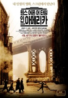 Once Upon a Time in America - South Korean Movie Poster (xs thumbnail)