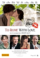 To Rome with Love - Australian Movie Poster (xs thumbnail)