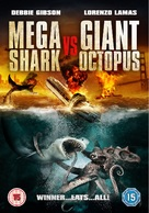 Mega Shark vs. Giant Octopus - British DVD cover (xs thumbnail)