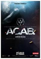 A.C.A.B. - Italian Movie Poster (xs thumbnail)