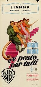 Room for One More - Italian Movie Poster (xs thumbnail)