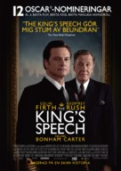The King's Speech - Swedish Movie Poster (xs thumbnail)
