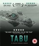 Tabu - British Blu-Ray cover (xs thumbnail)