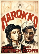Morocco - Dutch Movie Poster (xs thumbnail)
