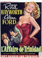 Affair in Trinidad - Belgian Movie Poster (xs thumbnail)