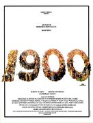 Novecento - French Movie Poster (xs thumbnail)