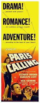 Paris Calling - Movie Poster (xs thumbnail)
