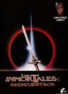 Highlander 2 - Spanish Movie Poster (xs thumbnail)