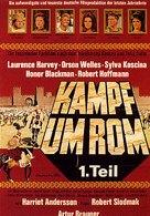 Kampf um Rom I - German Movie Poster (xs thumbnail)