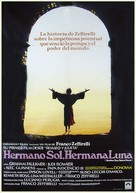 Fratello sole, sorella luna - Spanish Movie Poster (xs thumbnail)