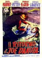 Joe Dakota - Italian Movie Poster (xs thumbnail)