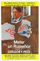 To Kill a Mockingbird - Spanish Movie Poster (xs thumbnail)