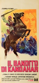The Brigand of Kandahar - Italian Movie Poster (xs thumbnail)
