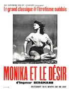 Sommaren med Monika - French Re-release poster (xs thumbnail)