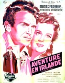The Fighting O'Flynn - French Movie Poster (xs thumbnail)