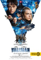 Valerian and the City of a Thousand Planets - Hungarian Movie Poster (xs thumbnail)
