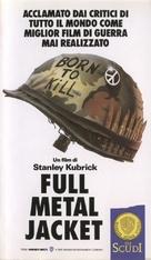 Full Metal Jacket - Italian VHS cover (xs thumbnail)