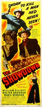 The Showdown - Movie Poster (xs thumbnail)